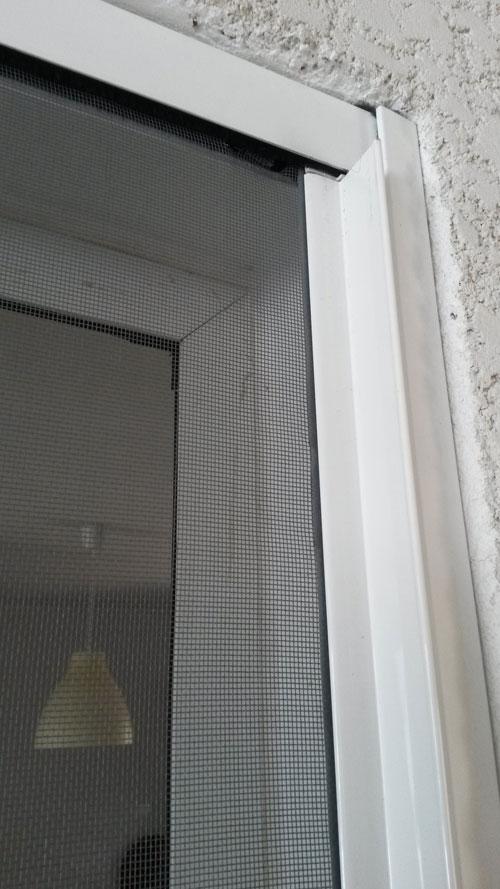Porte moustiquaire eurokit 170x250 cm ouverture lat rale - Moustiquaire sur mesure enroulable ...